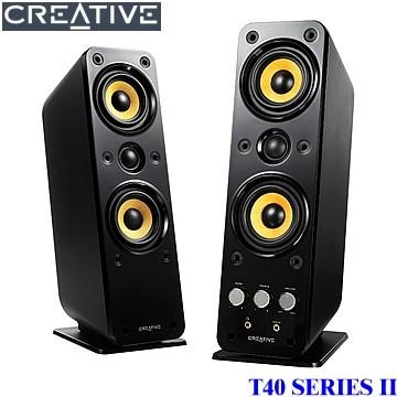 音響等級的MTM單體組態設計 Creative GigaWorks T40II 二件式喇叭