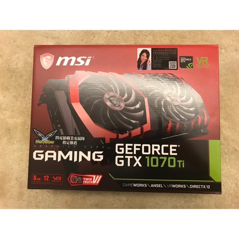 [選搭超優惠]MSI GTX 1070TI 全新(Z370 gaming mining expert 1000w)
