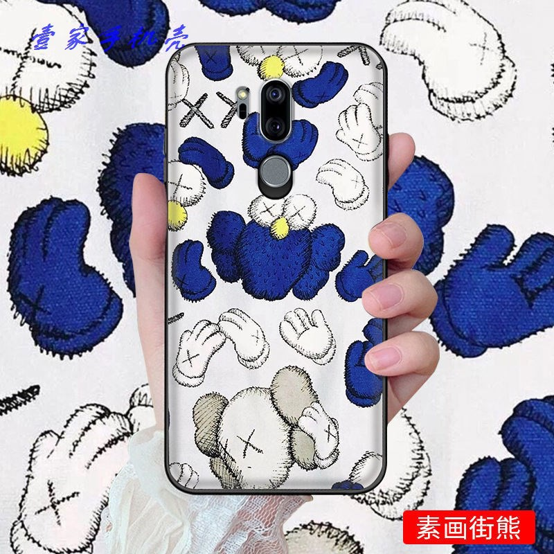 LG g7thinq手機殼LG G7 ThinQ男女硅膠軟LGg7+保護套LGg7防摔