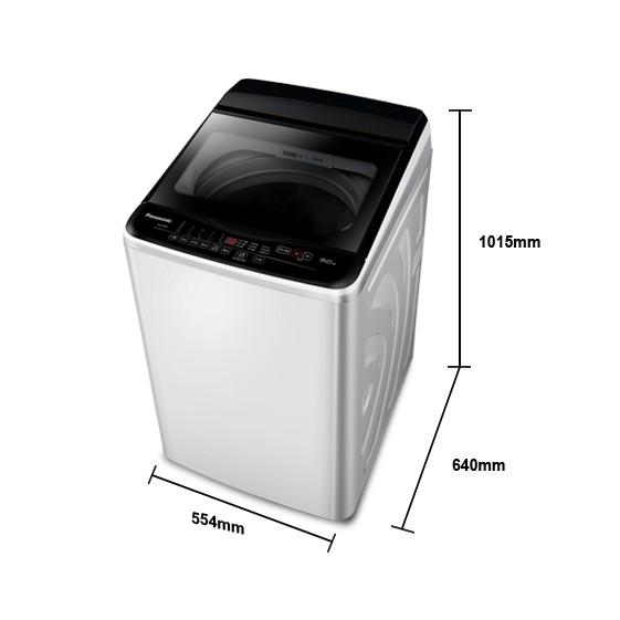Panasonic國際牌/定頻直立式洗衣機/洗脫12KG/NA-120EB-W(免運含基本安裝)