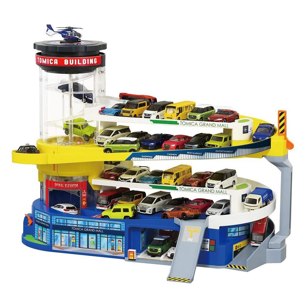 【TOMICA】多美小汽車 停車場玩具 百變自動停車塔 50周年 紀念版