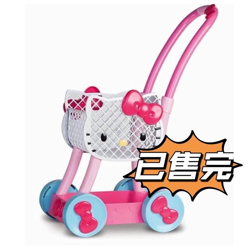 (已售完勿拍)絕版 正版 三麗鷗 玩具 hello kitty 推車 購物車 菜籃車 稀有好市多辦 家家酒 二手