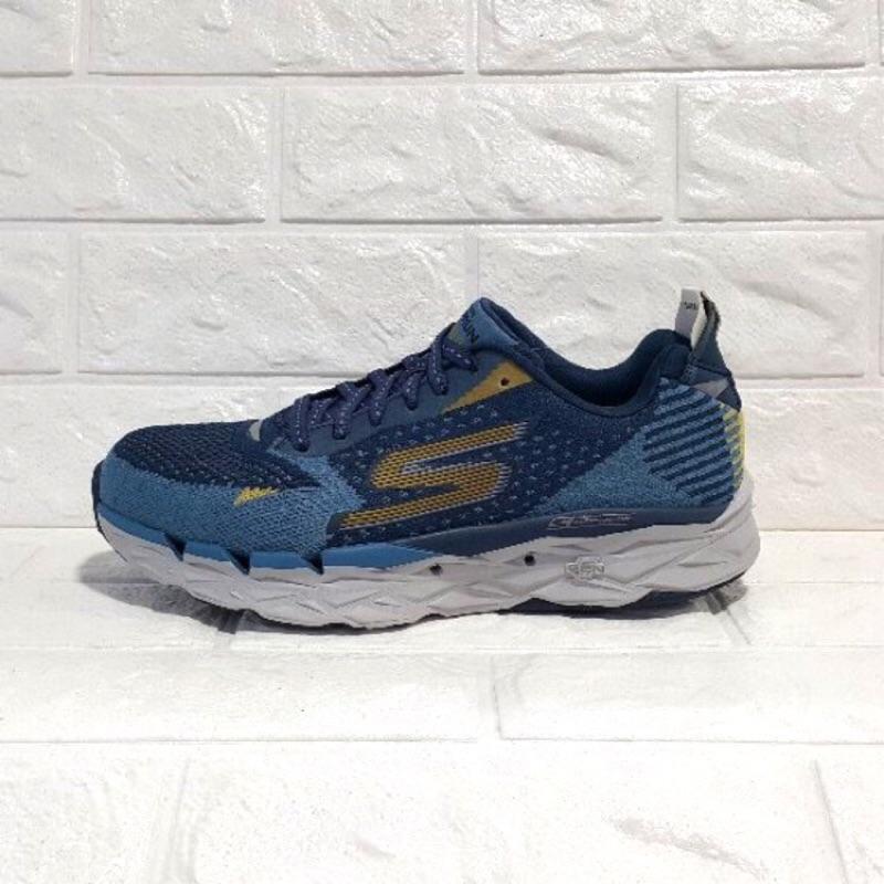 SKECHERS 55050BLNV (男) 跑步系列 GORUN ULTRA R 2 (藍) 慢跑鞋
