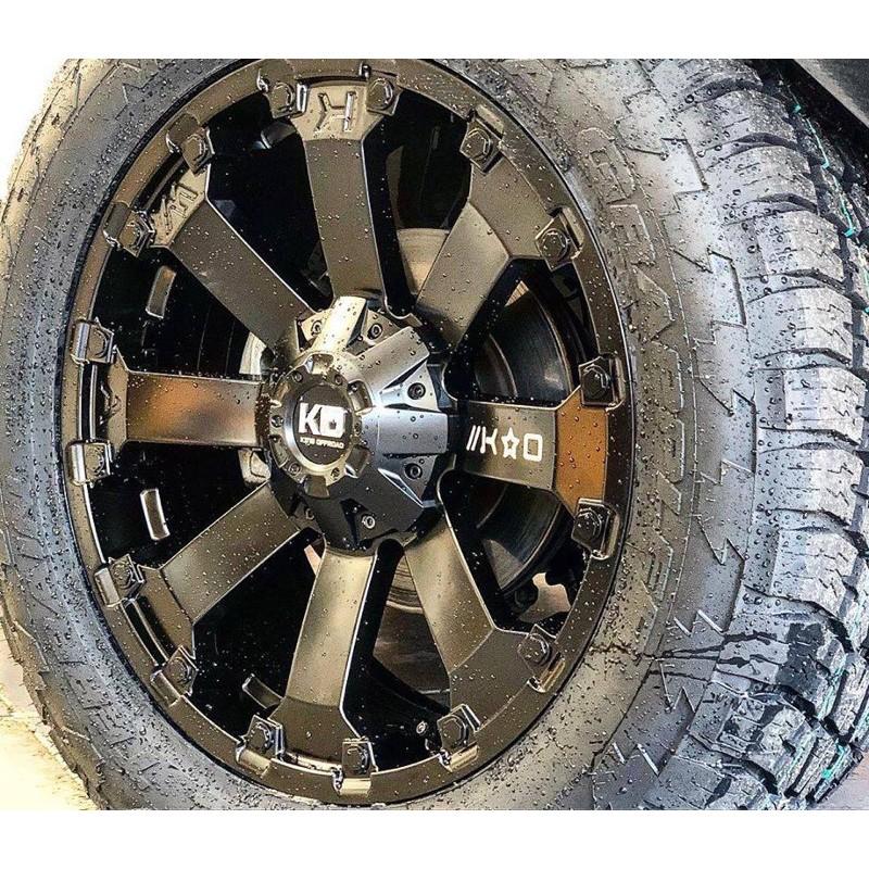 高雄人人輪胎 KO767 17吋 鋁圈 5孔 5H 139.7 Suzuki jimny JB74 越野框 鈴木 吉姆尼