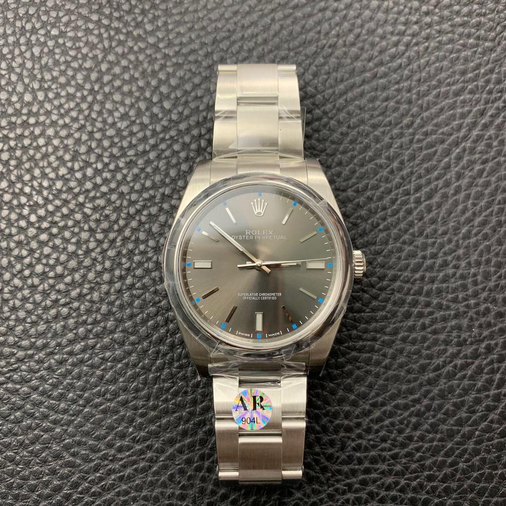 【最新款】勞力士腕錶手錶ar 114300灰面