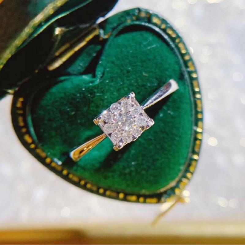 璽朵珠寶 [ 18K金 放大 鑽石戒指 ] 微鑲工藝 精品設計 鑽石權威 婚戒顧問 婚戒第一品牌 鑽戒 婚戒 GIA