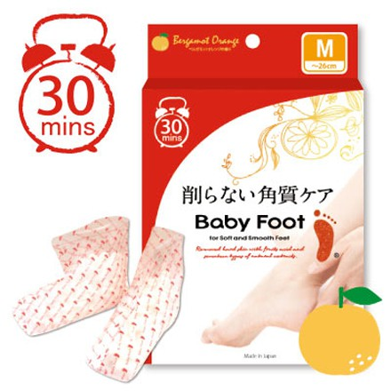 BABY FOOT寶貝腳 3D立體足膜 (30分鐘快速版)