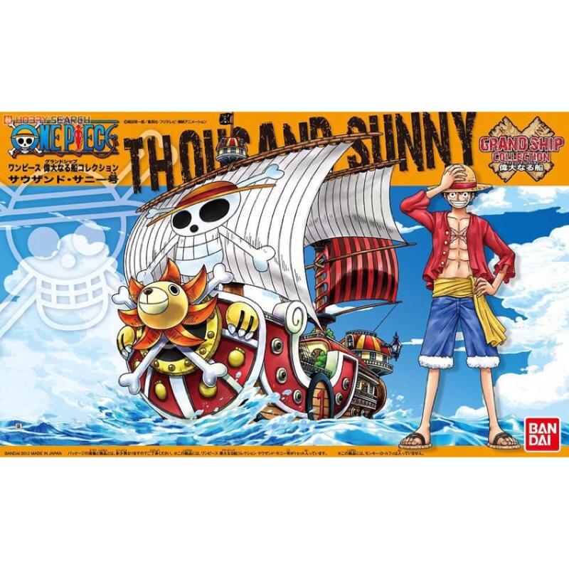 BANDAI 海賊王 日版 模型系列 偉大的船艦收藏集 01 THOUSAND-SUNNY 草帽魯夫海賊團 千陽號