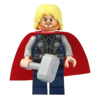 LEGO 樂高 雷神索爾THOR 含武器 6868 6869 漫威 超級英雄 MARVEL 復仇者聯盟 麥購聖 (òó)