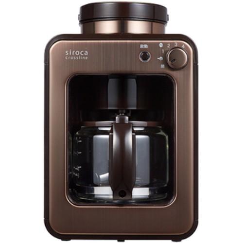 日本Siroca 全自動研磨咖啡機全新品公司貨SC-A1210CB金棕色 免運