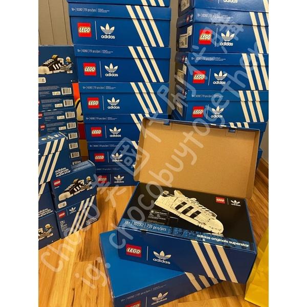 現貨秒出 Lego 樂高 10282 40486 大+小鞋  Adidas Originals Superstar 全新