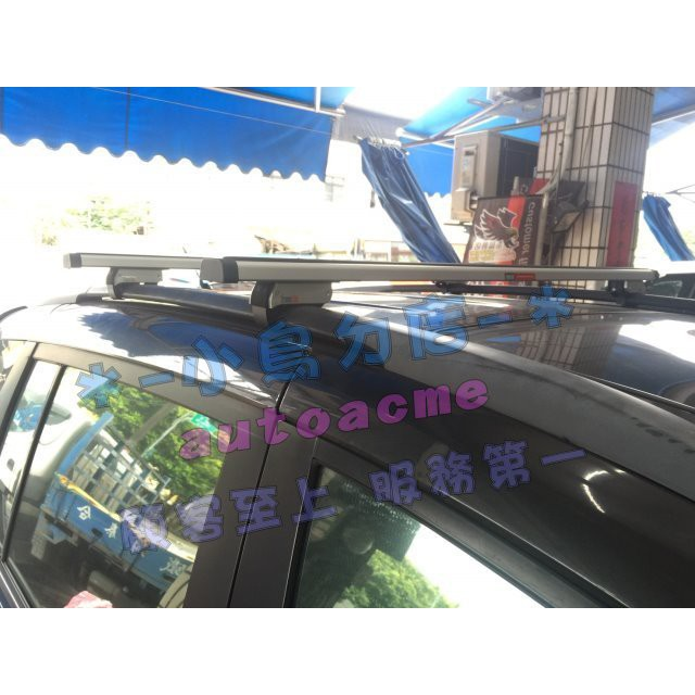 (小鳥的店)福特 I MAX 快克 橫桿 車頂架 行李架 附認證 雙桿承載耐重 80KG MAZDA 5