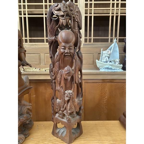 木質雕刻的神像二手的