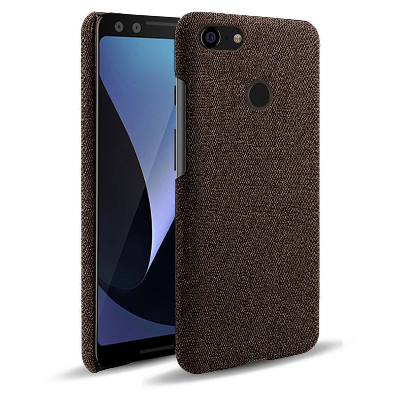 防摔 防撞 保護殼❀◇▽google pixel 3xl手機殼布紋適用谷歌pixel3保護套布面防摔透氣殼