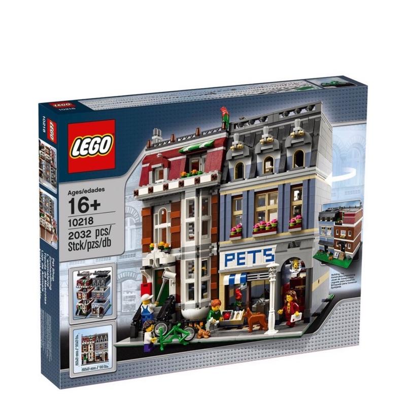 降價$5500美國購入 正版 樂高 LEGO 10218 寵物店 PET SHOP 街景系列 絕版 拼好整棟賣