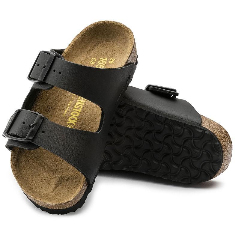 德國勃肯 Birkenstock 小朋友二條拖鞋-黑色