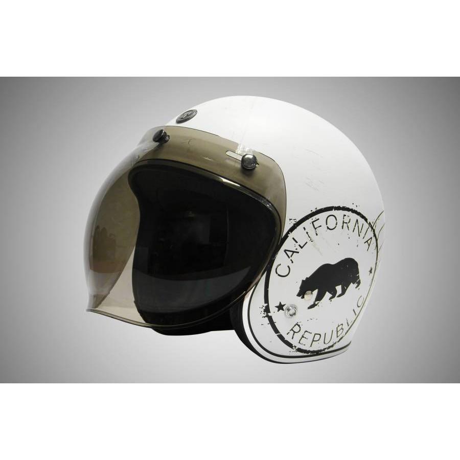 《鐵釘子IRON NAIL》 TORC T50 淺墨色泡泡鏡 附掀架 3/4安全帽專用