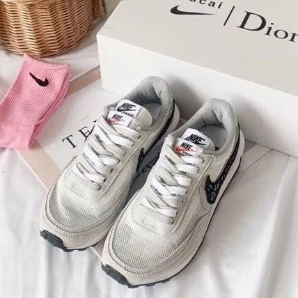 原單 Nike Dior聯名 sacai LDV Waffle Daybreak聯名解構走秀鞋 男鞋 女鞋 情侶鞋 慢跑