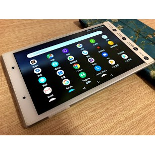 "Lenovo TAB 4 8"" TB-8504X LTE 可插卡通話白色平板(電池新換不議價)"