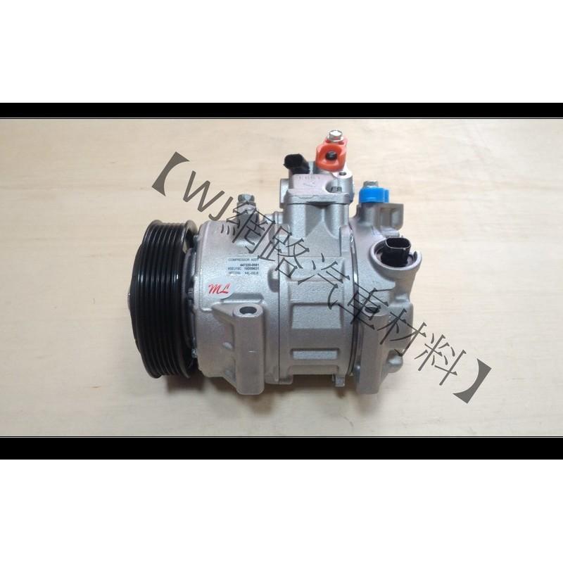 【WJ網路汽車材料】豐田 TOYOTA RAV4 全新 冷氣壓縮機 壓縮機 全車系 風箱 膨脹閥 冷排 白干 皆可詢問