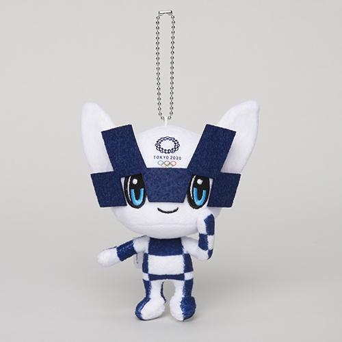 [現貨] 全新 Tokyo 2020 Olympic 日本 東京奧運 限定 周邊 吉祥物 毛絨 娃娃 吊飾 SS號 兩款
