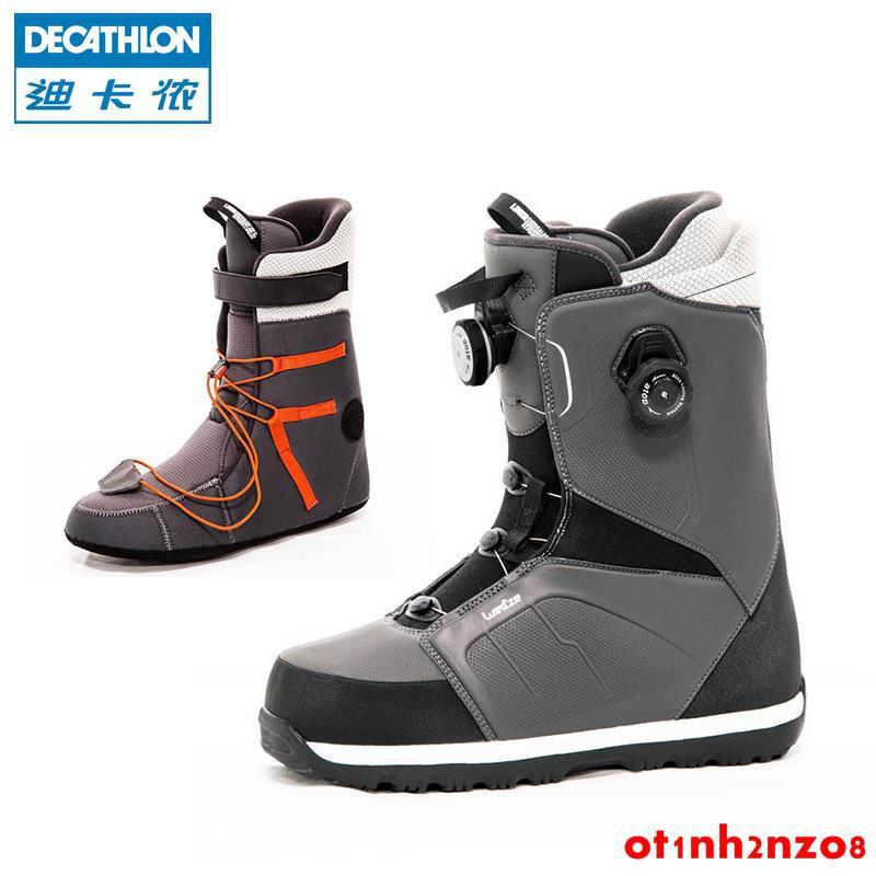迪卡儂單板滑雪鞋男 高級輕便舒適緩震男式滑雪靴 WEDZE3