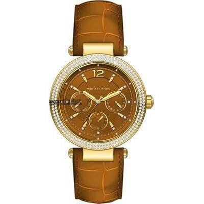 JESSIE代購 Michael Kors MK手錶 三眼日曆女錶 鑲鑽錶框 時尚腕錶 MK2546 美國代購