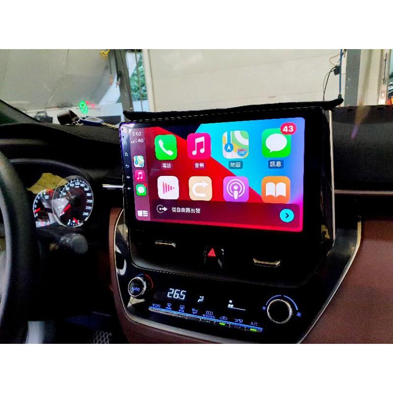 銳訓汽車 台南麻豆 TOYOTA COROLLA CROSS安裝智乘科技高階專用10.2吋安卓機