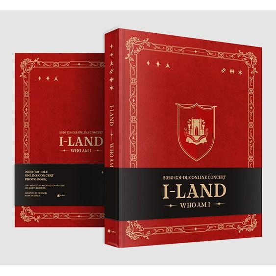 (現貨)  (G)I-DLE 孩子們 I-LAND:WHO AM I 線上演唱會 官方 寫真書