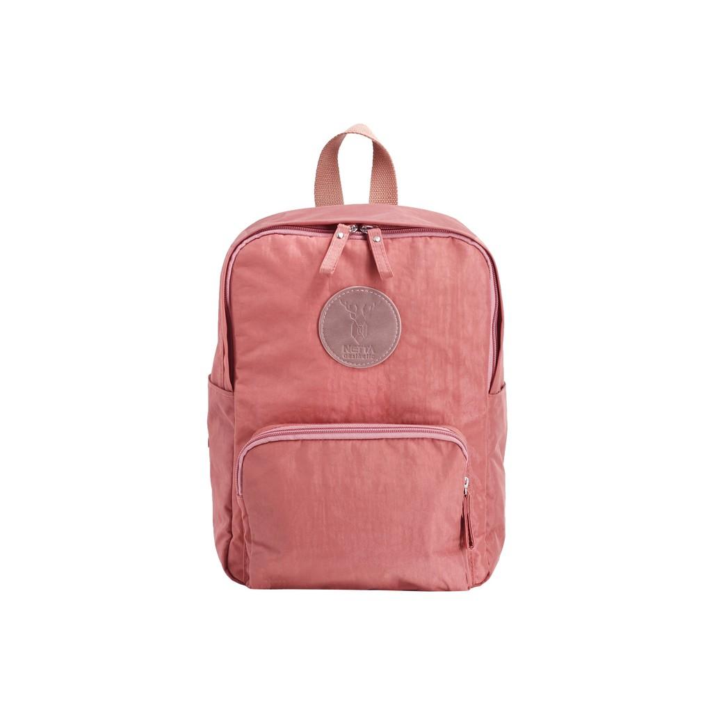 NETTA 城市探索包/ Mini 探索後背包 粉紅 / 防潑水休閒後背包