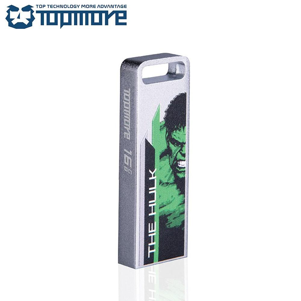 TOPMORE ZXM USB3.0 漫威復仇者聯盟彩版經典隨身碟 128GB/鋼鐵人/美國隊長/浩克【免運】
