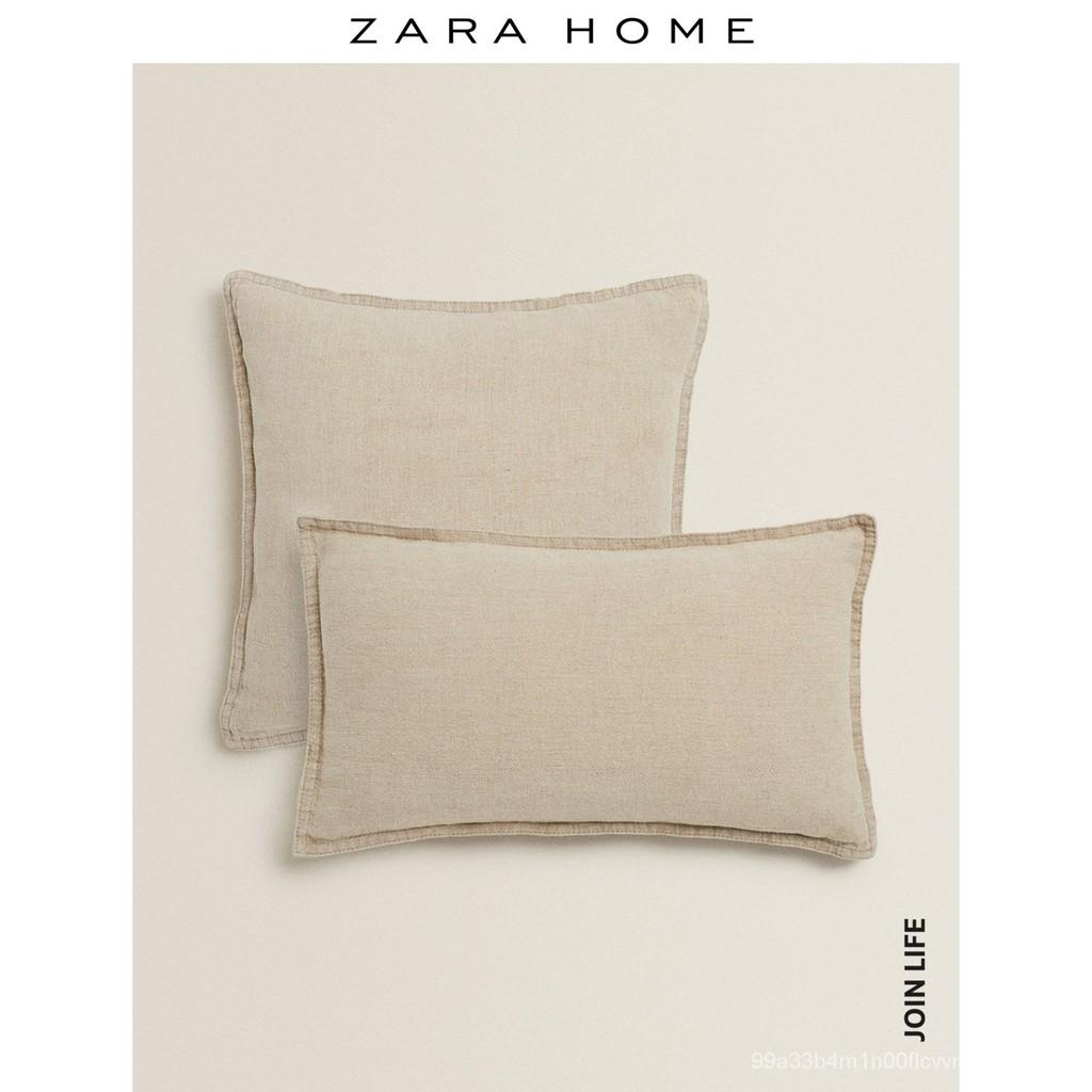 【新品 抱枕靠墊】Zara Home 亞麻靠墊套 43331008052