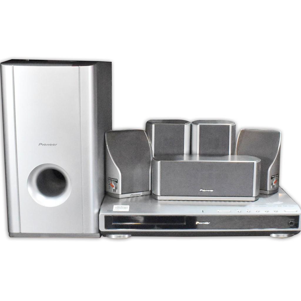 (自取) Pioneer 全區DVD 5.1環繞音響組XV-DV323 200100000080 再生工場YR20 01