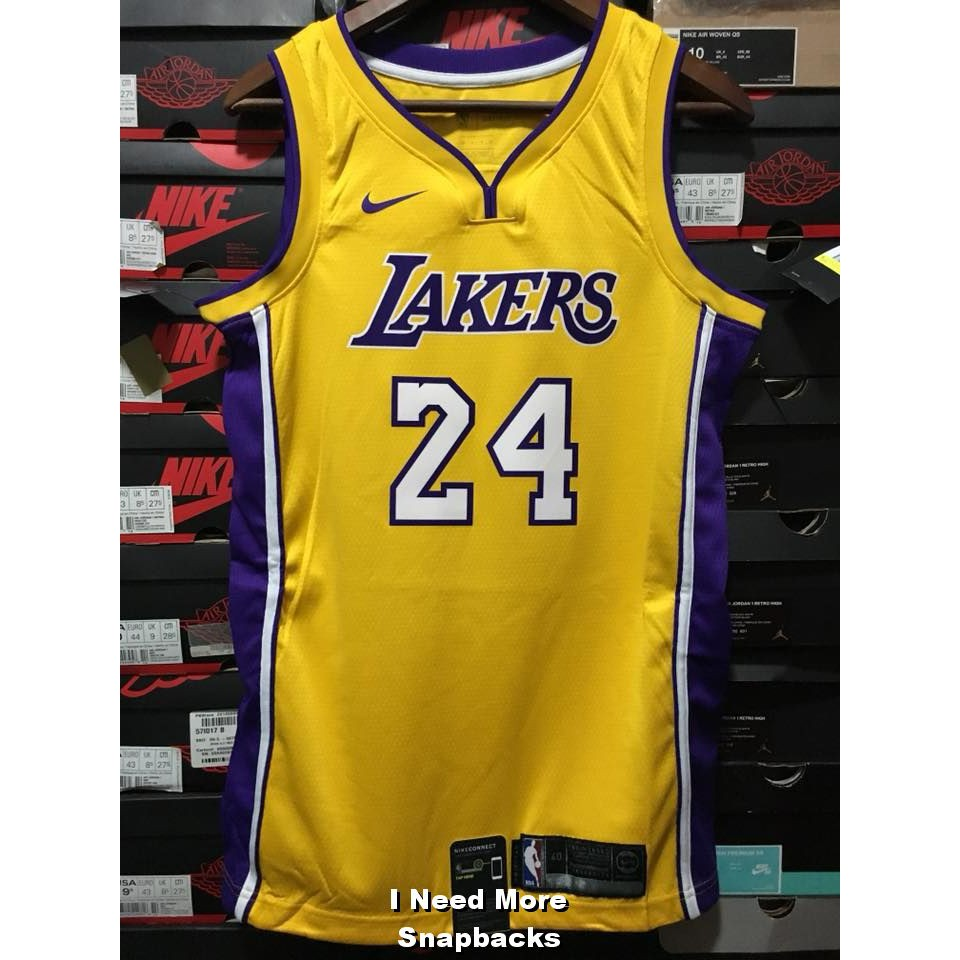 INMS 全新Nike Lakers City Edition Kobe Bryant 球員版AJ6430-011 ... 3d1623cbf