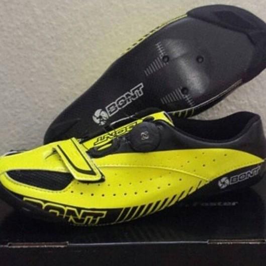 BONT Blitz 階款碳纖公路卡鞋-螢光黃