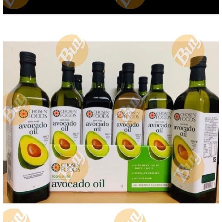 好市多 Chosen Foods 酪梨油Pure Avocado Oil 【口碑賣家 銷售百瓶 好評酪梨油】