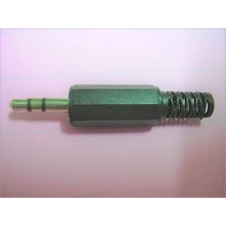 3.5 立體公頭 3.5mm公插頭 音源頭 立體音 DIY 自焊接頭 音源線頭 耳機線頭 塑膠八角殼 新北市