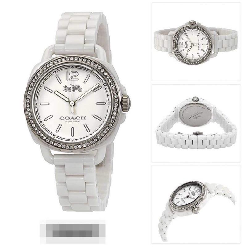 coach 陶瓷女手錶