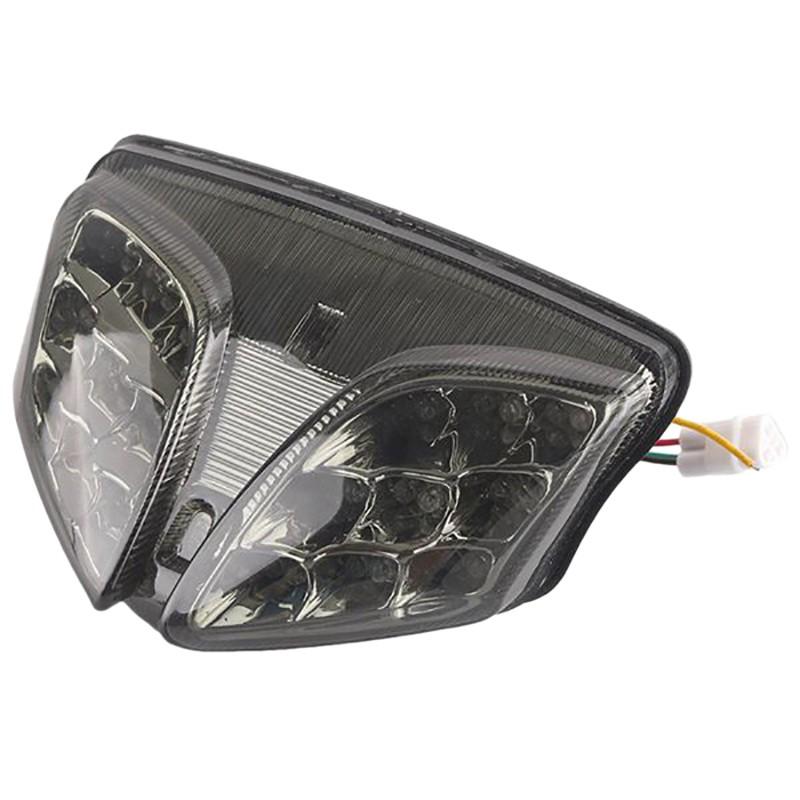 鈴木GSXR GSX-R 600 750 2008-2012 K8 K9集成LED後尾燈摩托車燈配件GSX-R 1000