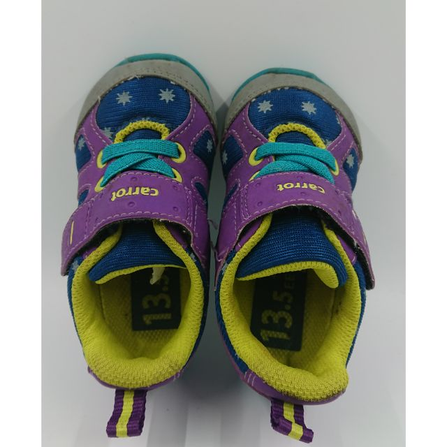 二手 moonSTAR carrot 日本 童鞋 13.5cm