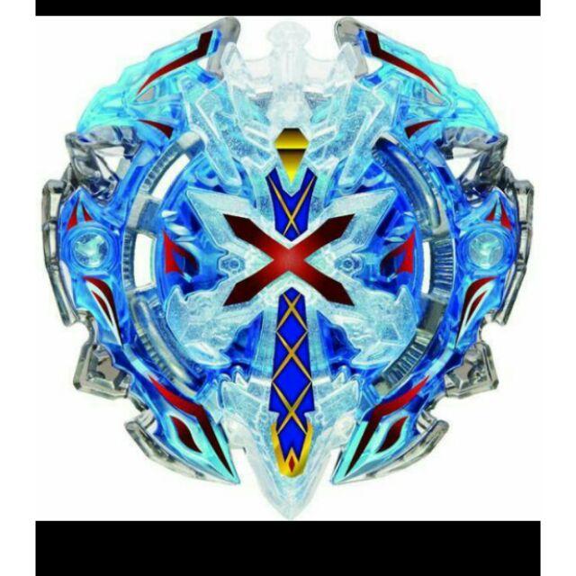 戰鬥陀螺 爆裂世代 絕版品 b67 07 藍色O軸神力聖劍