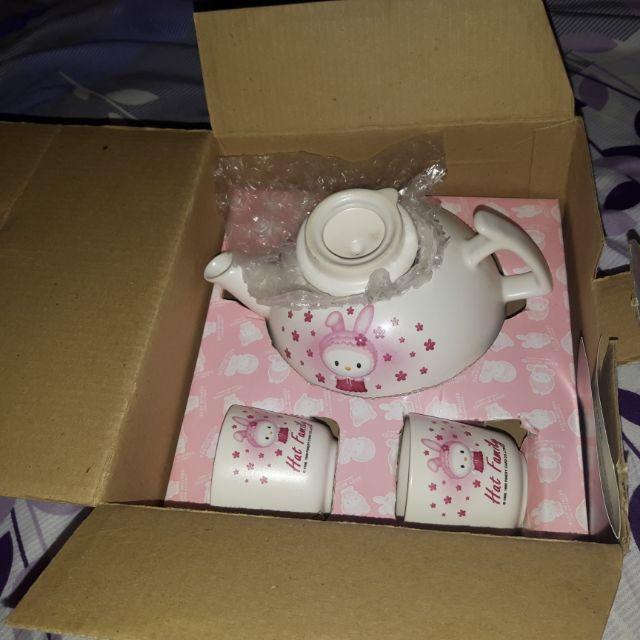 Hello Kitty泡茶杯組