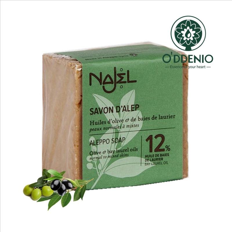 Najel【12%月桂油阿勒坡手工古皂185g】馬賽皂的始祖Aleppo Soap《歐丹尼》