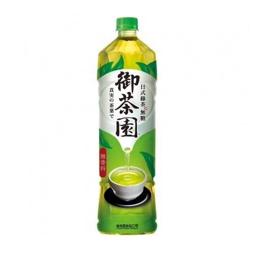 御茶園 日式綠茶-無糖(1250ml/瓶)[大買家]