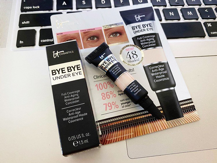 進口現貨%美國It cosmetics  under eye眼部遮瑕膏1.5ml medium light fair%