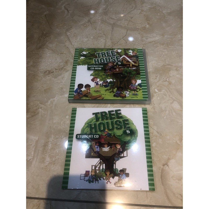 Tree house 5 CD二片+Interactive CD-ROM (何嘉仁)