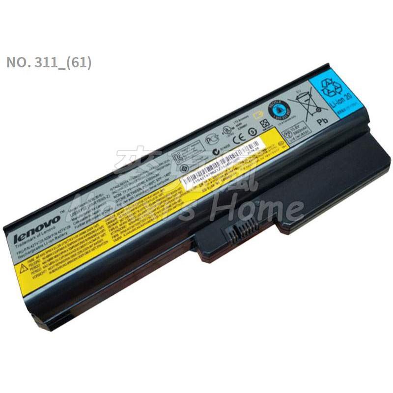 原裝全新聯想LENOVO G530系列6芯48WH黑色筆電電池-311