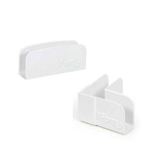 韓國 Ifam 遊戲圍欄固定夾-白色