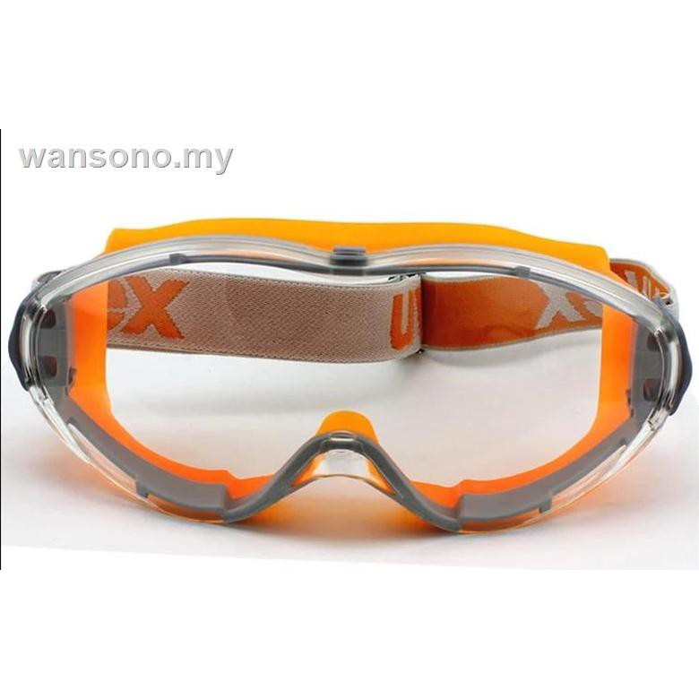 Uvex 最佳威 Si 9002245 安全貼片耐磨防霧 9302 密封液騎行護目鏡
