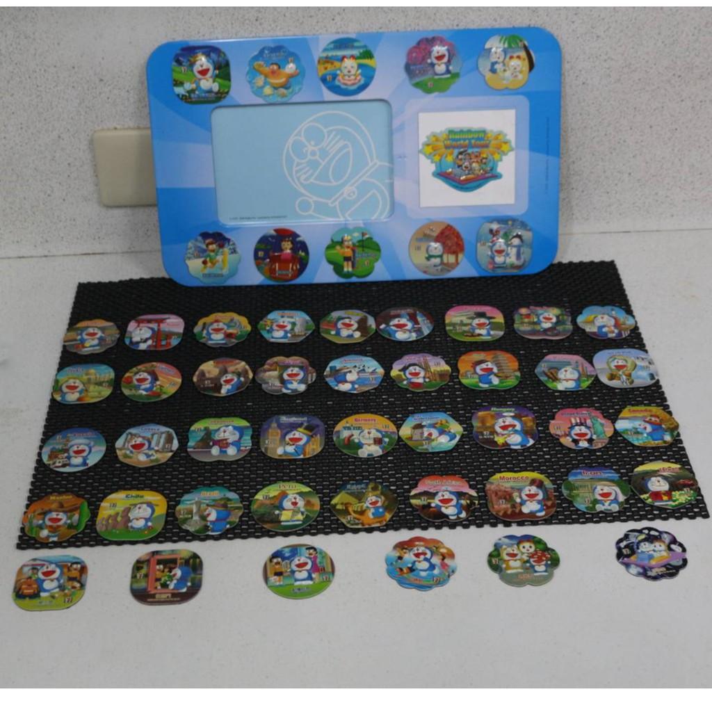 哆啦a夢時光機相框含磁鐵